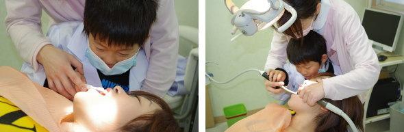 小さな歯医者さんは将来名医かも