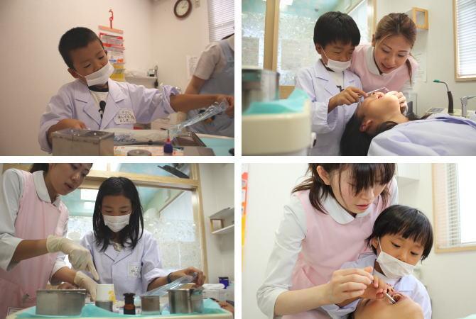 驚くかわいい歯医者さん
