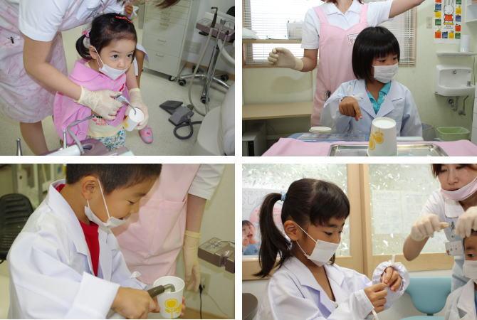 驚くかわいい歯医者さんたち