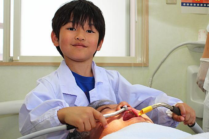 小さな歯医者さんの記念撮影